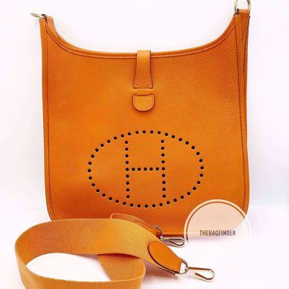 Picture of Hermes Evelyne GM Orange