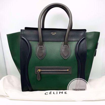 Picture of Celine Mini Luggage TriColor
