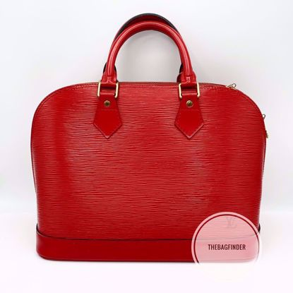 Picture of Louis Vuitton Alma Red Epi