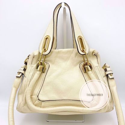 Picture of Chloe Paraty Small Light Beige