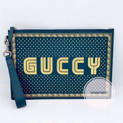 Picture of Gucci Moon and Stars Clutch