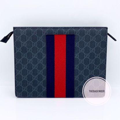 Picture of Gucci Web Clutch