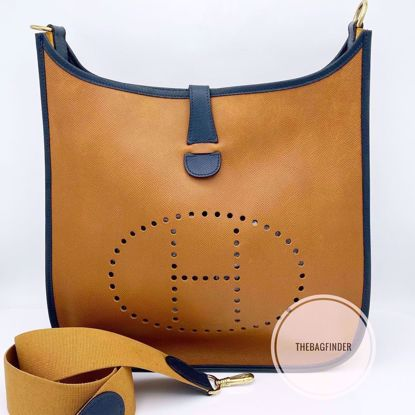 Picture of Hermes Evelyne GM Bicolor