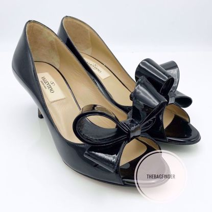 Picture of Valentino Bow detailed Heels