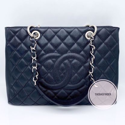 Picture of Chanel GST Caviar Black