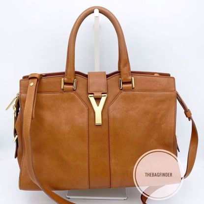 Picture of YSL Cabas Small Tan