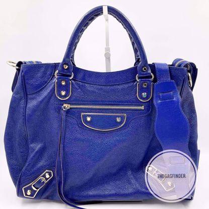 Picture of Balenciaga Velo Edge Blue and Silver
