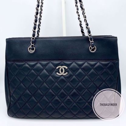 Picture of Chanel Large Caviar Black Chain