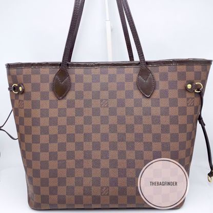 Picture of Louis Vuitton Neverfull MM Ebene Damier