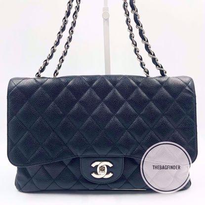 Picture of Chanel Jumbo Single Flap Caviar