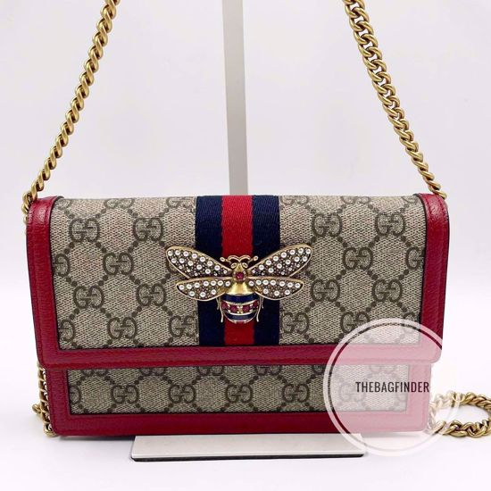 Picture of Gucci Queen Margaret Wallet On Chain