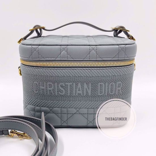 Picture of Christian Dior Vanity Gray All Leather