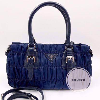 Picture of Prada Tessuto Gaufre Nylon Blue