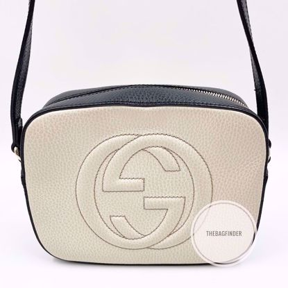 Picture of Gucci Soho Disco Leather White and Black